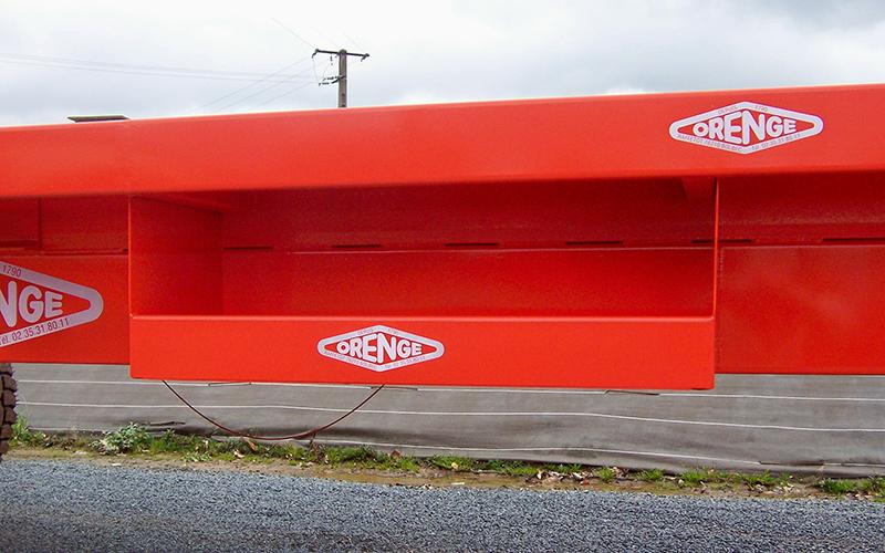 plateau coffre ouvert pour 8 et 10 m